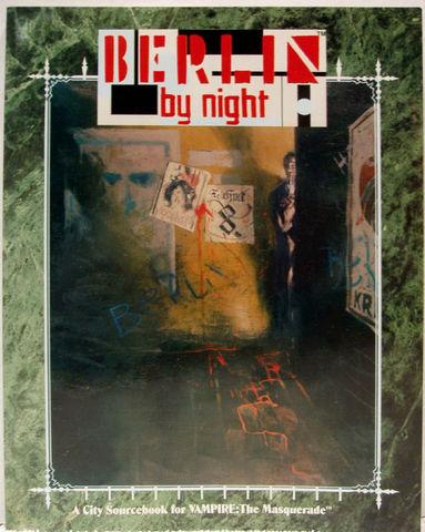 VAMPIRE THE MASQUERADE BERLIN BY NIGHT © 1993 ww2214