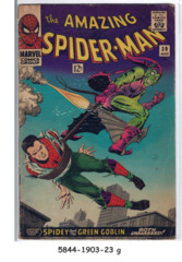 AMAZING SPIDER-MAN #039 © Aug 1966 Marvel Comi
