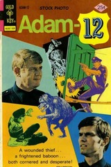 Adam-12 #08 © 1975 Gold Key
