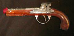 Flintlock Jr. Cap Gun © 1960s Hubley