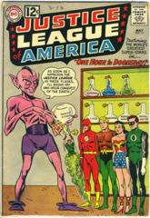 JUSTICE LEAGUE of AMERICA #011 © May 1962 DC Comics