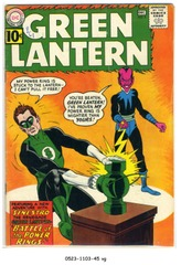 GREEN LANTERN #009 © 1961 DC Comics