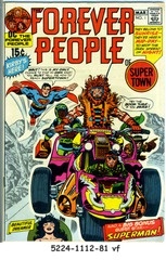 Forever People, The #1 © 1971 DC Comics