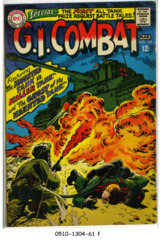 G.I. Combat #128 © March 1968 DC Comics