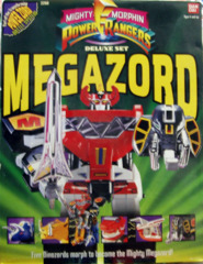 Mighty Morphin Power Rangers Deluxe Megazord © 1993 Bandi 2260