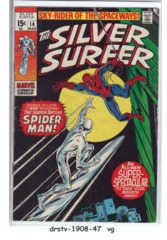 The Silver Surfer #14 © March 1970, Marvel Comics