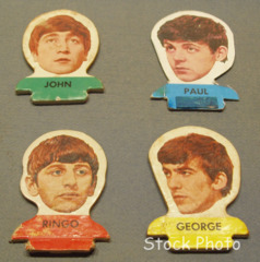Beatles Flip Your Wig Tokens