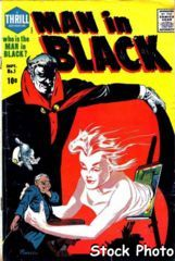 Man in Black #1 © September 1957 Harvey