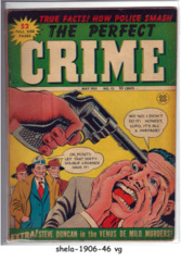 The Perfect Crime #12 © May 1951, Cross Publications