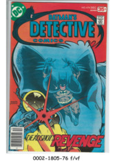 Detective Comics #474 (Dec 1977, DC)