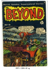 Beyond #13 © July 1952 Ace Magazine