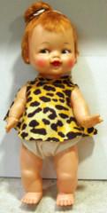 Flintstones Pebbles Doll © 1963 Ideal Toys