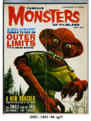 Famous Monsters of Filmland #026 © January 1964 Warren Publishing
