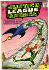 JUSTICE LEAGUE of AMERICA #017 © 1963 DC Comics
