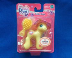 My Little Pony Butter Drop © 2004 Hasbro Happiness Island Target Excusive