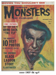 Famous Monsters of Filmland #005 © November 1959, Warren Publishing