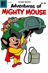 Adventures of Mighty Mouse v2#147 © 1960 Dell