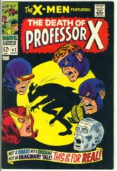 The X-Men #042 © 1968 Marvel Comics
