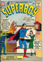 SUPERBOY #105 © June 1963 DC Comic