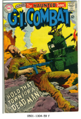 G.I. Combat #129 © May 1968 DC Comics