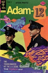 Adam-12 #09 © 1975 Gold Key