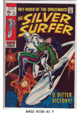 The Silver Surfer #11 © December 1969, Marvel Comics