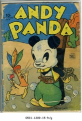 Andy Panda 4C0054 (#2) © 1944 Dell Four Color