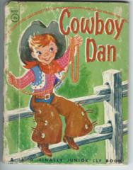 Cowboy Dan © 1950 Junior Elf Book #8009