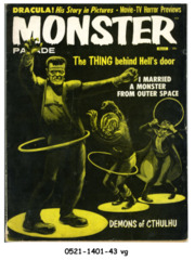 Monster Parade #4 © March 1959 Magnum Publications