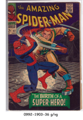 Amazing Spider-Man #042 © November1966 Marvel Comics