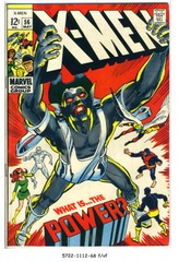 The X-MEN #056 © 1969 Marvel Comics