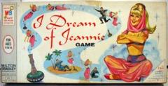 I Dream of Jeannie Game © 1965 Milton Bradley 4633