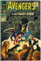 The AVENGERS #036 © January 1967 Marvel Comics
