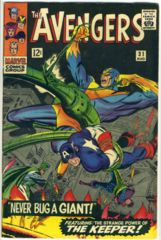 The AVENGERS #031 © August 1966 Marvel Comics