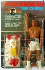 Muhammad Ali The Champ w/Fighting Action © 1976 Mego 61701