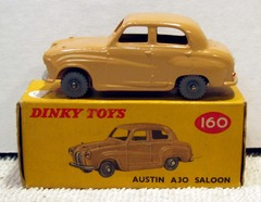 Austin A30 Saloon © 1960s Dinky Toy 160 W/ Box