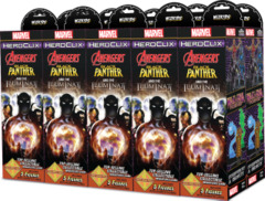 Marvel HeroClix: Avenger Black Panther and the Illuminati Booster Brick © 2019