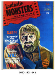 Fantastic Monsters of the Films v2#1 (7) © 1963 Black Shield Publication