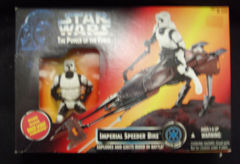 Power Of The Force Imperial Speeder Bike © 1995 Kenner 69765