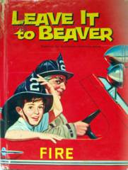 LEAVE IT TO BEAVER © 1962 Whitman 1526 TV Book