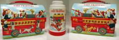 DISNEY'S FIRE FIGHTERS DOME Box w/ Thermos © 1974
