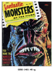 Fantastic Monsters of the Films v1#3 © 1962 Black Shield Publication
