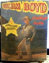 Hopalong Cassidy Coloring Book © 1950, Samuel Lowe 1231-15