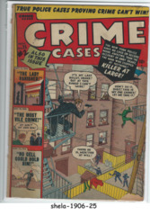Crime Cases Comics #25 [2] © November 1950, Atlas/Marvel