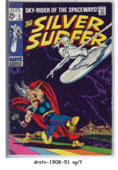 The Silver Surfer #04 © February 1969, Marvel Comics