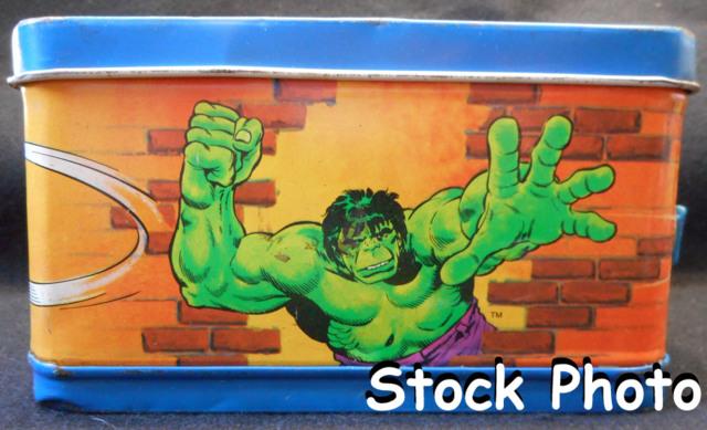 Spider-man and the Hulk Lunch Box © 1980, Aladdin