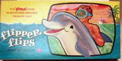 Flipper Flips Game © 1965 Mattel *