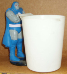 Darkseid Glass from Burger King © 1988 DC Comics