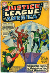 JUSTICE LEAGUE of AMERICA #004 © 1961 DC Comics