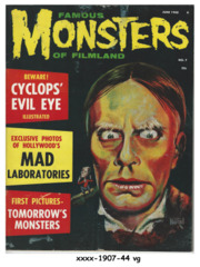 Famous Monsters of Filmland #007 © June 1960, Warren Publishing